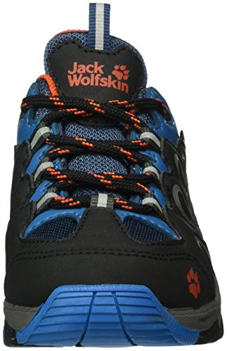 Jack Wolfskin Unisex-Kinder Mtn Attack 2 Texapore Low K Trekking-& Wanderhalbschuhe Blau (glacier Blue 1121)