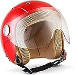 Soxon SK-55 'Red' · Kinder-Jet-Helm · Kinder-Helm Motorrad-Helm Roller-Helm Kids Scooter-Helm...