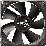 Aerocool Dark Force 9cm - Ventilador de PC (Ventilador, Carcasa del ordenador, 9 cm, Negro, 0,12A, 1,44W)