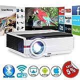 Projecteur vidéo sans Fil Bluetooth HDMI de 4200 lumens Home Cinéma Multimédia LED...