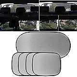 AUDEW Auto Sonnenschutz Front und Heckscheibe Sonnenblende UV Schutz kit