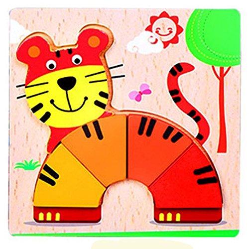 Puzzle Für Geschenk, Sansee Hand Greifen Puzzle Board Cartoon Holz dreidimensionale Puzzle Spielzeug (#1139, (Figur Hause Kostüme Zu Buch Zu Machen)