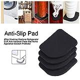 Universelle Pads Antivibrations-Pads aus Gummi für Waschmaschine, Kühlschrank, Zubehör für große Haushaltsgeräte 8Pcs