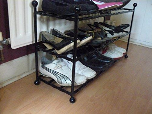 Shoe rack organiser stand 9 -12 pairs