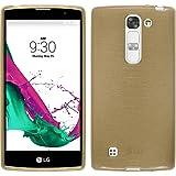 Funda de silicona para LG G4c - brushed oro - Cover PhoneNatic Cubierta + protector de pantalla