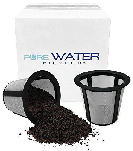 Purewater Filter Wiederverwendbar Kaffee Korb Mesh Filter für Single dienen Brewer Modelle B30, B31, Mini, B40, B50, B60, B70 (2 Pack) -