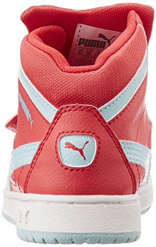 Puma Puma Rebound Tom &Jerry Kids, Unisex-Kinder Hohe Sneakers Pink (cayenne/clearwater)