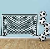 xlei Sticker Mural Football Football But Net Ballon De Sport Sticker Vinyle Décor...