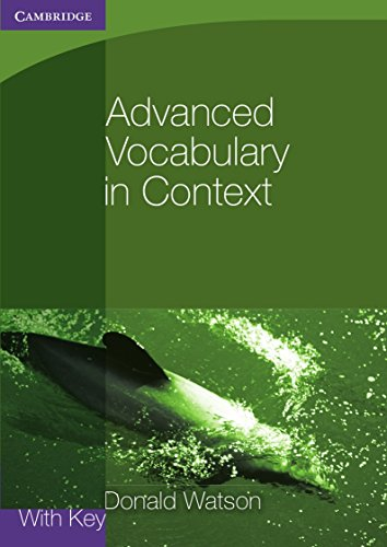 Advanced Vocabulary in Context (Georgian Press)