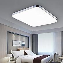 VINGO® 24W LED Moderno Lámpara panel lámpara De EnergÍA De Techo Lámpara calidad alta Ahorro De Energía LÁMpara Lámpara de techo Cocina De Cocina Iluminación para baño Dormitorio De La Lámpara Blanco Frío