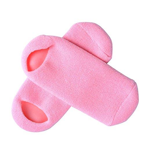 inkint spa Gel Silicone calzini idratante Whitening rammollimento esfoliante trattamento termale calzini per la pelle screpolata Cura calzini Riparazione Cracked Pelle bellezza cura