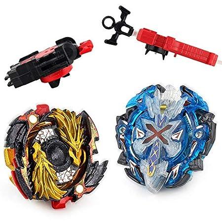 Lavendei 2 Stück 4D Fusion Modell Metall Masters Speed Kreisel | Kampfkreisel mit Launcher Kinder, Jugendliche und Erwachsene