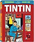 Tintin - 3 aventures - Vol. 1 : Les Cigares de Pharaon + Le Lotus Bleu + Tintin en Amérique [Combo Blu-ray + DVD]