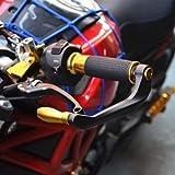 HaiMa Motorradteile Wiederverlegen Z800 Z900 Z1000 Zx10R Bremskollektion Anti-Fallende Horn-Handschutzbeamte-Gold