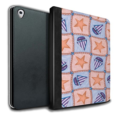 stuff4-pu-leather-book-cover-case-for-apple-ipad-pro-97-tablets-peach-purple-design-boat-stars-patte