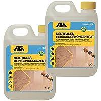 Fila 2X 1l Cleaner neutrales Reinigungskonzentrat für Marmor, Naturstein, Terrakotta, Cotto, Holz, Laminat 2X 1l. für bis zu 3000 qm