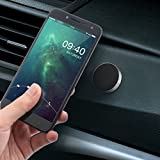 #8: Universal Car Phone Holder Aluminum Alloy Magnetic Plate Silicone Sucker Mount