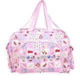 #10: Gurukripa New Born Baby Multypurpose Mother Bag With Holder Diapper Changing Multi Comprtment For Baby Care And Maternity Handbag Messenger Bag Diaper Nappy Mama Shoulder Bag Diaper Bag For Baby Multipurpose Waterproof Mother Bag Diaper Bag (Pink)