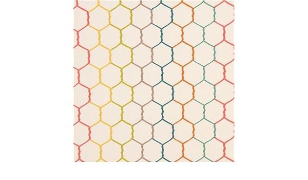 Organische Stoff creme klar Mesh Hühnerstall Hexagon Draht Farben ...