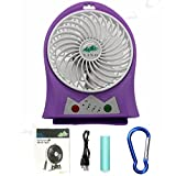 Best Camping Fans - YINO 3 Speeds Mini USB Rechargeable fan,Portable Fan Review
