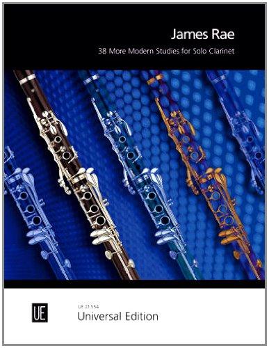 38 More Modern Studies: für Klarinette