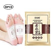 KOBWA Detox Fußpflaster, Detox Vitalpflaster, Fußpflaster zur Entgiftung, 100% natürlich Foot Pad Pflaster zur... preisvergleich bei billige-tabletten.eu