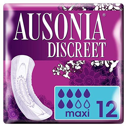 Ausonia Discreet Maxi Noche Compresas Para Pérdidas