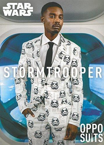 (Herren Star Wars Stormtrooper Oppo Anzug Kostüm Small/Medium (EU48 UK38))