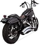 Vance & Hines Auspuffanlagen Super Radius Chrom Harley Davidson Dyna 2006-2014