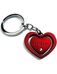 (KEY00140) Heart Shape Love Keychain For Him & Her Best Collectible & Gift Item