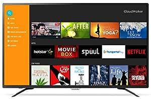 CloudWalker 109 cm (43 inches) 4K Ready Full HD Smart TV 43SFX2 (Black)
