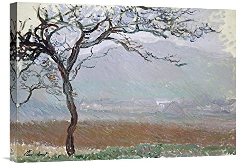 Global Galerie Budget gcs-265185-55,9-360,7 cm Claude Monet Giverny Countryside Galerie Wrap Giclée-Kunstdruck auf Leinwand Art Wand -