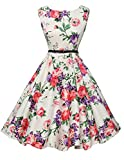 fashion damenkleider sommer festliches kleid rockabilly kleid swing dress for women Größe XL CL6086-21