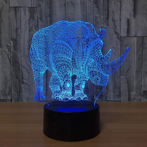 Camel Kabel (Bedroom Bedside Sleep Lighting 3D Camel Modelling Led 7 Colors Table Lamp USB Abstract Animal Night Lights Decoration Kids Gifts)