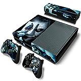 Gizmoz n Gadgetz GNG Adesivi In Vinile Per Xbox One Con Il Logo Di Joker Per Console E Per 2x Controllers