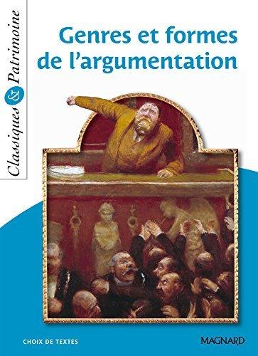Genres et formes de l'argumentation by St??phane Malt??re (2015-06-26)