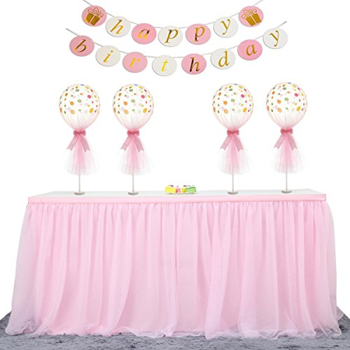 Home & Garden Reasonable Festival Supplies Chair Skirt Table Tablecloth Tulle Tutu Birthday Wedding Party Baby Shower Gift Craft Diy Favor Candy Color To Have Both The Quality Of Tenacity And Hardness Event & Party