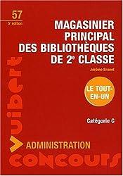 Magasinier principal des bibliothèques de 2e classe : Catégorie C