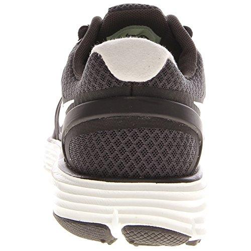 Nike Modern Embossed Tempo Short Pantalon court pour femme multicolore - anthracite/blanc/noir/jaune (Anthracite/Summit White-Black-Volt)