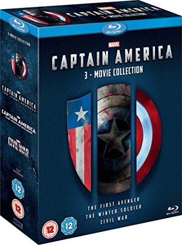 Captain America 3 Movie Collection [Blu-ray] [Region frei] (Blu-ray-captain America)