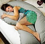 Coozly U LYTE Grey Pregnancy Pillow Fine...