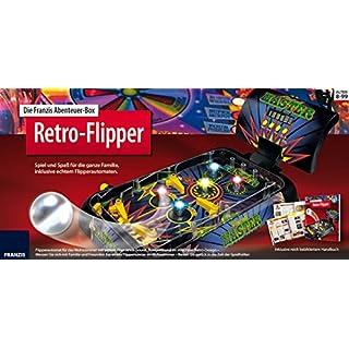 Die Franzis Abenteuer-Box Retro-Flipper: Spiel und Spaß für die ganze Familie, inklusive echtem Flipperautomaten.