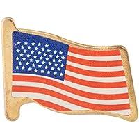 Bandera de EE. UU. Embrague pins (6docena)–Bulk