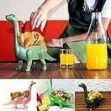 QHJ Taco Halter – Die Ultimate Dinosaurier Prähistorischer Taco Ständer, Hält 2 Tacos,Küche Werkzeug für Love Dinosaurier Kinder (Rosa)