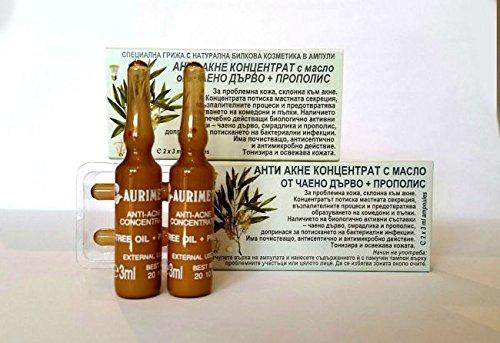 Anti-acne concentrado con árbol de té y propóleos–2ampollas