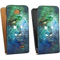 LG L70 Tasche Hülle Flip Case Cro Merchandise Fanartikel Galaxycro
