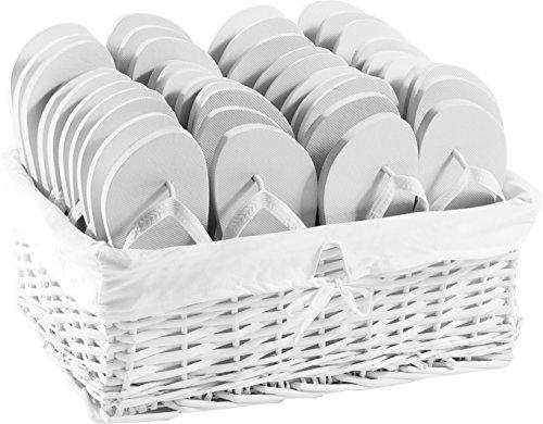 ZOHULA Weiß Originals Flip Flop Party Pack - 20 Paar 20xM (38-39)