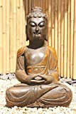 assis Yoga- Statue de Bouddha pour naturel