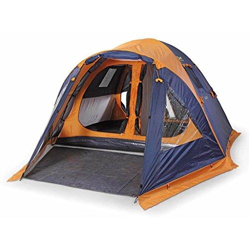 Bertoni Tende Giglio 5 Giglio 5 Tenda da Campeggio, Blu/Arancio, Unica