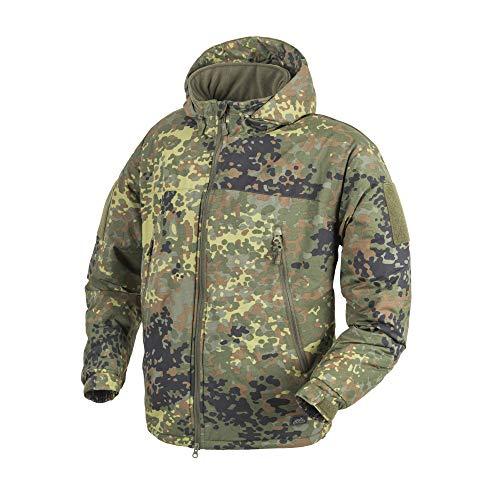 Helikon-Tex Level 7 Lightweight Winter Jacket - ClimaShield Apex Flecktarn L/Regular